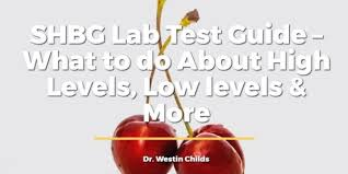 Shbg Levels Chart Shbg Lab Test Guide What To Do About High Levels Low