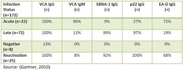 Ebv Interpretation Chart Labs And Diagnosis Ebv Help