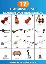 Salah satunya adalah alat musik tradisional. 17 Alat Musik Gesek Lengkap Gambar Dan Penjelasan Redaksiweb