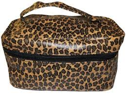 onesque leopard print soft train cosmetic travel case by smbsi 3 99 onesque leopard print soft
