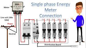 single phase kwh meter wiring diagram wiring diagram for you • single phase meter wiring diagram energy meter energy meter rh com meter box wiring diagram