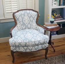 New Old Chair Copper Dot Interiors How To Reupholster Antique Chair