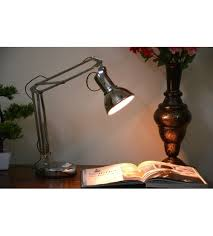 office table lights.  Lights Stainless Steel Table Lamp Long Arm Lamp For Study Or Office Uses Silver  Color To Lights
