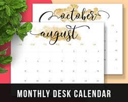 2018 monthly planner printable calendar 2017 2018 printable