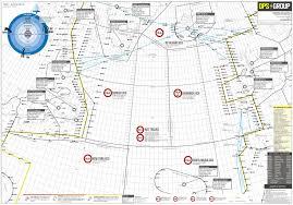 2019 Updated North Atlantic Plotting Chart International