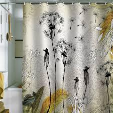 modern shower curtain  del