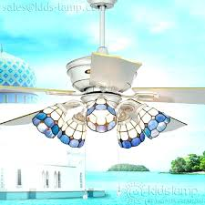ceiling fan with lamp shade stained glass ceiling fan elegant rustic stained glass ceiling fan lighting