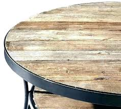 natural wood round coffee table glass reclaimed and solid canada coffe