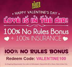 slots garden valentines day bonuses
