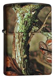 "<b>Зажигалка</b> Zippo ""<b>Mossy Oak</b>"", 3,6 х 1,2 х 5,6 см. 28738"