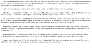 write about something that s important adolf hitler research paper in the speech and the examples from it that are provided hitler is using falsification and incorrect statements to