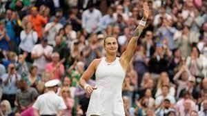 Wimbledon 2021: Aryna Sabalenka and ...