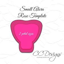 Small Paper Flower Templates Free Printable Rose Flower Template Download Them Or Print