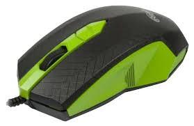 Мышь <b>Ritmix ROM</b>-<b>202 Black</b>-Green USB — купить по выгодной ...