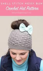 Messy Bun Beanie Knitting Pattern Best Decorating Design