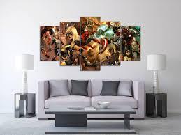 The Heroic Age Avengers Canvas Print, Cartoon Split Canvas, Comics Large Wall  Art,
