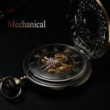 aliexpress com buy antique bronze automatic pendant watch antique bronze automatic pendant watch necklace mens retro pocket watch keychain gold vintage mechanical military pocket