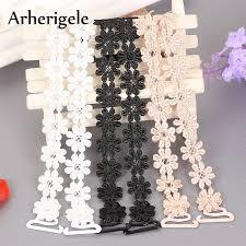 Arherigele <b>Women's</b> Elastic <b>Bra</b> Strap <b>Crochet</b> Floral Sexy Lace <b>Bra</b> ...