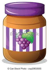grape jelly clipart. Beautiful Clipart A Jar Of Grape Jam  Csp20833555 And Grape Jelly Clipart