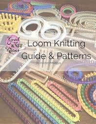 Loom Knitting Patterns For Beginners Enchanting Loom Knitting Guide Patterns Perfect For Beginner To Advanced