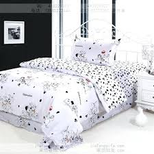 childrens double duvet covers uk dog print bedding sets cotton bed sheets bedspread kids cartoon twin
