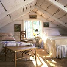 Bedroom Cute Attic With Additional Home Decoration