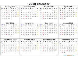 Full Page Blank Calendar Template Printable Calendar 2018 Free 2018 Blank Calendar Template