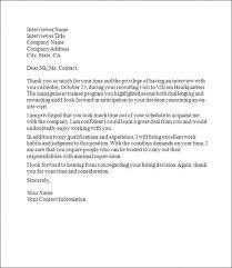 How To Write A Thank You Follow Up Interview Letter Grassmtnusa Com