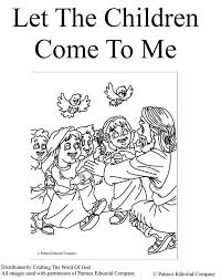 Jesus Loves The Little Children Coloring Page 56502