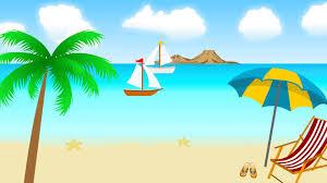 animated cartoon beach scene background video gif find make share gfycat gifs