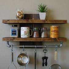 Image of: Wall Spice Rack Shelf