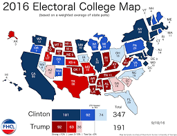 2016 electoral map predictions 50 days to the election Final Election Results Map electoral college map 2016_09 10 final election results map 2016
