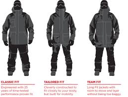 Bonfire Snow Pants Size Chart Size Charts For Bonfire Apparel