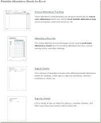 School Attendence Sheet Class Attendance Form Template Sheets Excel Free Sheet