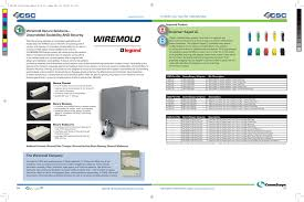 Wiremold Secure Solutions