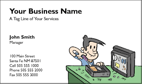 Business Cards For Computer Repairers