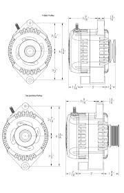 170 amp alternator 1965 85 ford v8 6 12 o clock bolt ford alternator product specs and dimensions