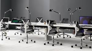 sayl office chair. Delighful Sayl Black Sayl Office Chairs In A Benching Work Environment Intended Office Chair W