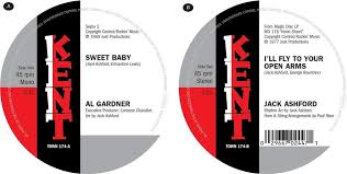 """Sweet Baby/I'll Fly To Your Open Arms (7"""" Single) by Al Gardner & Jack  Ashford - CeDe.com"""