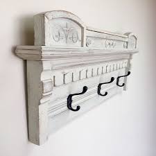 Wall Mounted Coat Hanger Rack