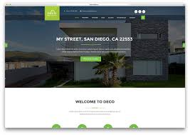 home for sale template top 20 html5 real estate website templates website templates and