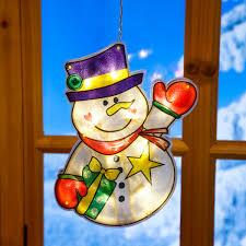 Led Fensterdeko Schneemann Matz