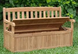 chic wooden garden storage bench seat outdoor storage bench waterproof navpa2016