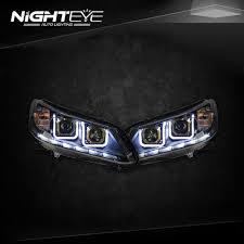 2014 Honda Accord Lights Nighteye Honda Accord Headlights 2014 2015 New Accord 9 Led Headlight