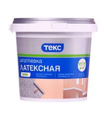 <b>Шпатлевка Текс</b> Профи латексная 1,5 кг — купить в Петровиче в ...