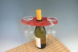 wine bottle glass holder wooden wine bottle and glass holder plans