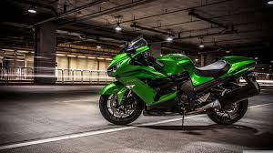 lime green kawasaki ninja motorcycle 4k hd desktop wallpaper for