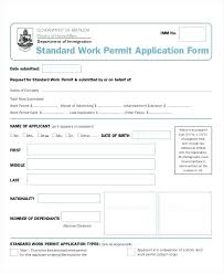 Construction Work Authorization Form Template System Letter