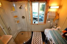 tiny house bathroom. Contemporary House Clearing Up The Space For Tiny House Bathroom A