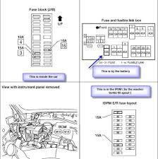 1996 nissan quest fuse box wiring diagrams bib